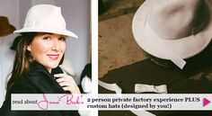 Check out Jamie Beck's AMAZING article about her and her husband, Kevin Burg's experience at the NYC Hat Factory. http://annstreetstudio.com/2013/12/05/nyc-millinery/?src=ks