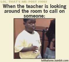 Lol!! Or when a brother has a part in the service meeting and no one is raising their hand