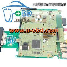 BMW EVO Headunit CPU Programming tools VVDI Prog adapter