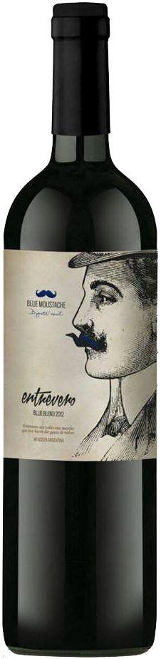 """Entrevero Blue Moustache"" Malbec / Cabernet Franc 2012 - Entrevero Wines, Luján de Cuyo, Mendoza, Argentina-------- Terroir: Agrelo"