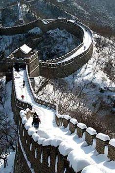 La muralla China un lugar hermoso para visitar