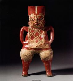 A Chupicuaro Figure, Mexico, Late Preclassic, Woman standing, Terracotta, Natural pigment