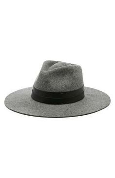 ae34317c0612b SOLE SOCIETY Designer Wide Brim Hat Wide Brim Fedora