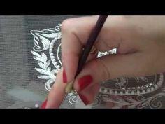 Вышивка люневильским крючком- обучение , школа SALIMASTYLE - YouTube
