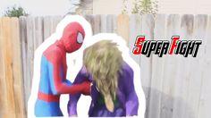 Joker vs Spiderman Bath Time & Death Match In Real life Superhero Movie