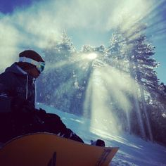 Snowboards & Sunrays, by Gavion Niere