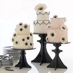 Idea for DIY cake stands