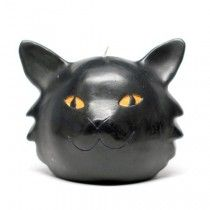 Cat Head Candle.  See all of our Novelty / Holiday candles as well as or special event and our everyday candles at www.BeverlyHillsCandle.com