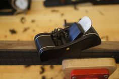Ebony handplane for luthiery and woodworking. From homegrownlutherie.com