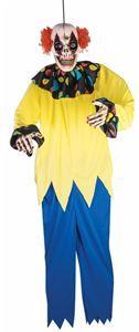 Undead Circus Clown Hanging Prop 5ft - 371869 | trendyhalloween.com