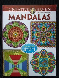 Mandalas Creative Haven Coloring Book Nature Marty Noble Mesmerizing Randall
