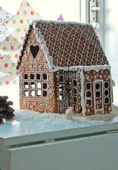 Den gode feen: Beautiful Ginger bread house