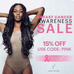 HELP SUPPORT CANCER AWARENESS ENTER CODE:PINK 15%OFF bejingmiraj.mayvenn.com