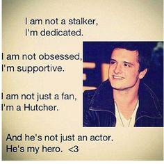 I'm not just a fan, I'm a Hutcher! <3 <3