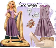 """Modern Rupunzel"" by russeyler2005 ❤ liked on Polyvore"