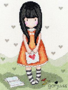 I Gave you my Heart Cross Stitch Kit