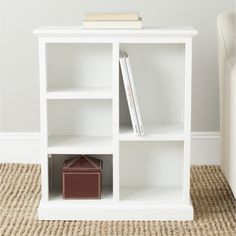 Safavieh Maralah White Bookcase - Overstock™ Shopping - Great Deals on Safavieh Media/Bookshelves