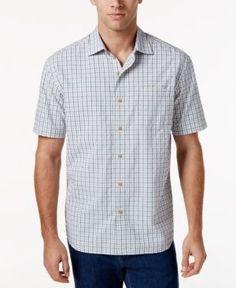 Tommy Bahama Men's Reel Deal Seersucker Shirt - White XXL