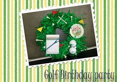 couronne  Golf party birthday