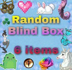 Caja sorpresa, paquete sorpresa, regalo sorpresa, blind box, magical, fairy, mermaid, unicorn, dragon, cute, kawaii, creepy, monster