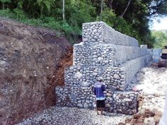 for water erosion control on a large scale