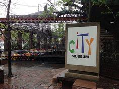 Play St. Louis: City Museum, St. Louis