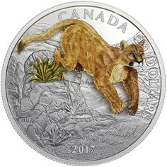 20 Dollar Silber Puma 3D PP