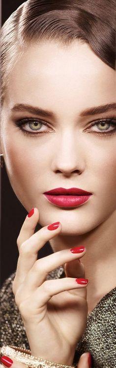 pretty makeup with sharp eyes   Fashion Beauty MIX