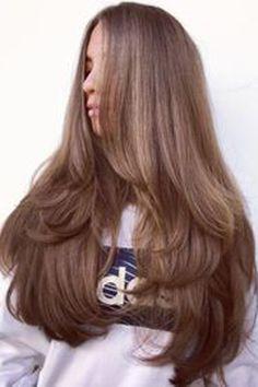Very Long Hair, Long Curly Hair, Long Hair Cuts, Curly Hair Styles, Wavy Hair, Straight Long Hair, Perm Hair, New Long Hairstyles, Straight Hairstyles