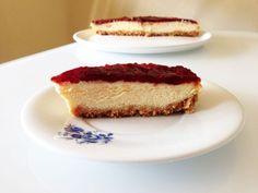 Receita Sobremesa : Cheesecake de framboesa de SofiaNeto