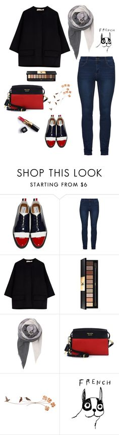 """""""Untitled #29"""" by nandawelly on Polyvore featuring Thom Browne, Marni, Chanel, Yves Saint Laurent, BeckSöndergaard, Prada and House by John Lewis"""