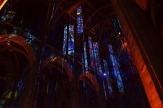 Graced with Light: pt III, 2014, Grace Cathedral, San Francisco.