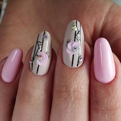 Nail art has become one of the greatest fashion accessories you can include to your look. Whether you need to dress it up, attract attention or maintain it relaxed, you could have so many options to make a choice from. Classy Nails, Stylish Nails, Cute Nails, Pretty Nails, Gem Nails, Pink Nails, Fabulous Nails, Gorgeous Nails, Romantic Nails
