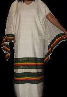 Traditional Ethiopian Buna Dress - 3 Piece Sets