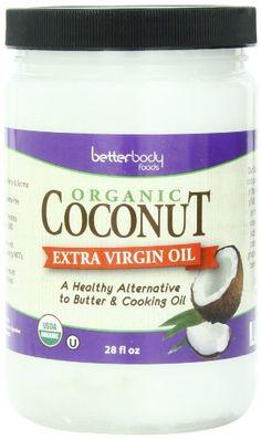 BetterBody Foods & Nutrition Organic Extra Virgin Coconut Oil, 28 Ounce - http://goodvibeorganics.com/betterbody-foods-nutrition-organic-extra-virgin-coconut-oil-28-ounce/