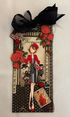 Natalie Prima Doll  using G45 Couture papers