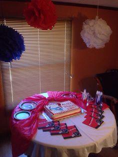 Houston Texans Theme Birthday Party