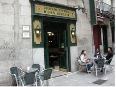 Chocolateria San Gines, Madrid, Spain