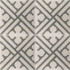 Carreaux de ciment - Les motifs - Carreau COF 11 - Couleurs & Matières