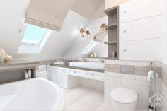 Dom w stylu klasycznym  Nowocześnie zaaranżowana łazienka.  Modern bathroom Progetti Architektura