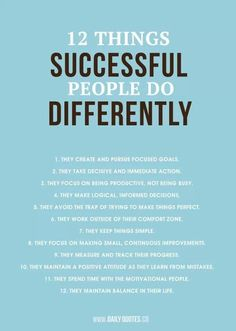 Work Motivation Quotes : QUOTATION – Image : Quotes Of the day – Description 12 Things Successful People Do Differently Sharing is Caring – Don't forget to share this quote ! Now Quotes, Daily Quotes, Great Quotes, Quotes To Live By, Motivational Quotes, Life Quotes, Inspirational Quotes, The Words, Encouragement