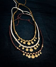 Espiral Collar Macrame o Tiara latón Brass por MacramaniaShop