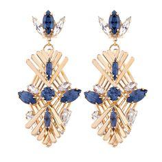 Art Deco-inspired: Criss-Cross Cage earring #antonheunis10