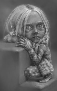 Sick (Digital, Character Wip) by Mary Sdfghjkl, via Behance