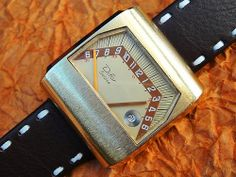Difor Sectora vintage watch From Crazy Watches Retro Watches, Vintage Watches, Cool Watches, Wrist Watches, Men's Watches, Mens Watches For Sale, Luxury Watches For Men, Cool Clocks, E 10