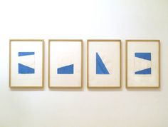 Studio and Garden: Blinky Palermo on Paper: At Play with Minimalism
