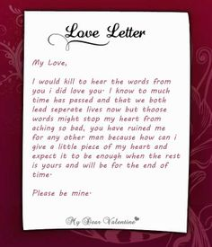 valentine notes for her
