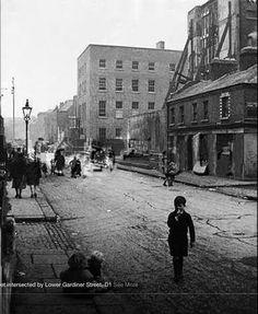 Railway Street, Dublin late 1930s