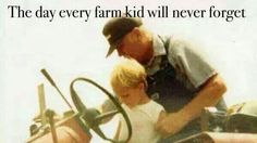 The day every farm kid will never forget