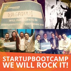 We are thrilled to inform you we've been selected for @Startupbootcamp team Amsterdam Class of 2014!!!  World get ready; the most rocking #sport #startup is coming!